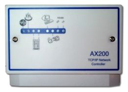 AX 200 TCP/IP Controller - Ethernet based (TCP/IP) controller allows expansion up to 256 doors with 16,000 cardholders