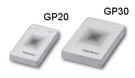 Promag GP20 / GP30 Proximity RFID Readers - Low cost, Long read range, Potted/Weather resistant 125kHz RFID Reader.