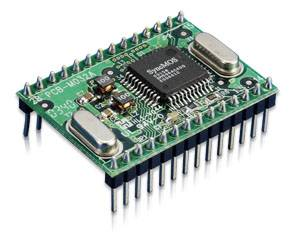 Promag MF5 - MIFARE Read / Write OEM Module - The MF5 is a tiny 13.56MHz MIFARE card read / write module