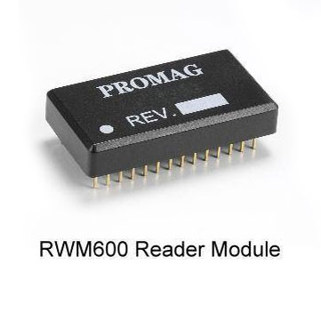Promag RWM600 Reader Module - ISO15693 read/write module. Depending on antenna size read distance can be up to 200mm