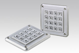 EAO S Series - Anti-Vandal Keypads - Vandal resistant keypads especially designed to meet the needs of public environment applications