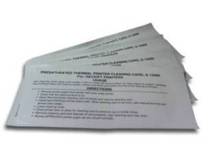 Cheque Scanner Cleaning Cards - Cleaning cards for TS200, TS210, TS220 Tellerscan Cheque Scanners.