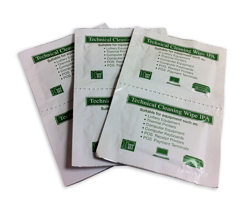Technical Cleaning Wipe IPA - These cleaning wipes are excellent for cleaning all types of electronic equipment