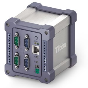 Tibbo DS1000 - 4 x RS232 BASIC-programmable Industrial Controller - Based on the EM1000 Module, One 100BaseT Ethernet port, x4 high-speed RS232 ports