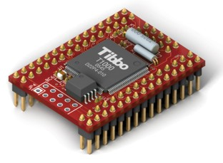 Tibbo EM1000 BASIC-programmable Ethernet Module - For data collection / control / automation