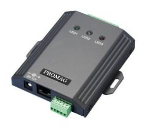 Promag WEC200 - Wiegand to Ethernet Controller - WEC200 is a smart controller/converter from Wiegand to Ethernet