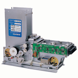 CRT530 Series - Motorised Card Dispenser with capture bin - RS232 or TTL interface. Dispense ISO cards. Card capture on timeout or error