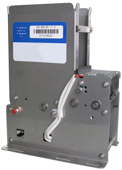 CRT560 Series - Motorised Card Dispenser - without error bin - RS232 interface. Dispense ISO cards.