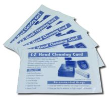 EZ-Mag - Magnetic Reader Head Cleaning Cards - Designed to remove dirt, magnetic oxides, oils etc from magnetic, photo and optic sensors