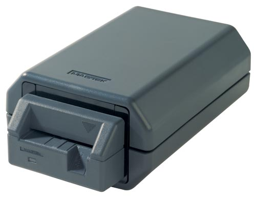Magtek Intellistripe 350 - Motorised Insert Reader - Motorised card reader, Hybrid magnetic stripe and smartcard reader. RS232 or USB interface