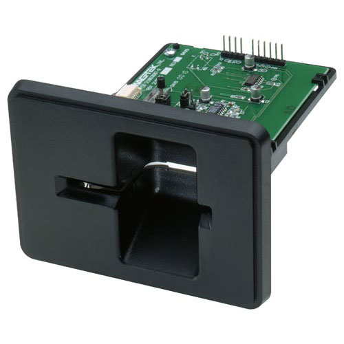 Magtek MT215 - Dual Head Magnetic Insert Reader (USB) - RS232 or TTL,Dual head minimises incorrect card insertion