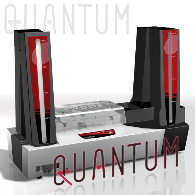Evolis Quantum - Dual Sided Bulk Card Printer - For printing dual-sided cards in bulk and in a stand-alone mode