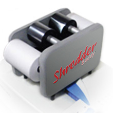 Printer Ribbon Shredder Buddy - Quickly and easily shred up to 4 printer ribbons at a time.