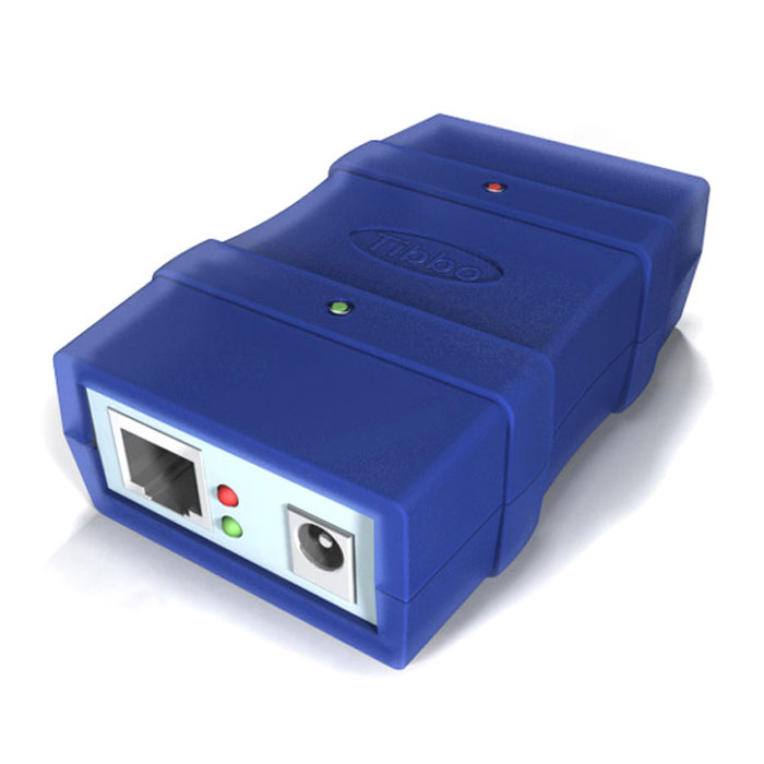Tibbo DS100R - Ethernet to Serial Converter / Device Server - 10 Base-T Serial Device Server
