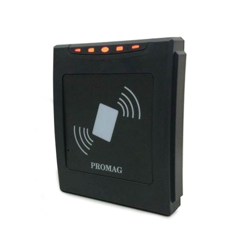 Promag Mifare DESFire Reader without Keypad - DF750/DF760 - Mifare DESFire Reader - RS232, ABA TK2, Wiegand, RS485